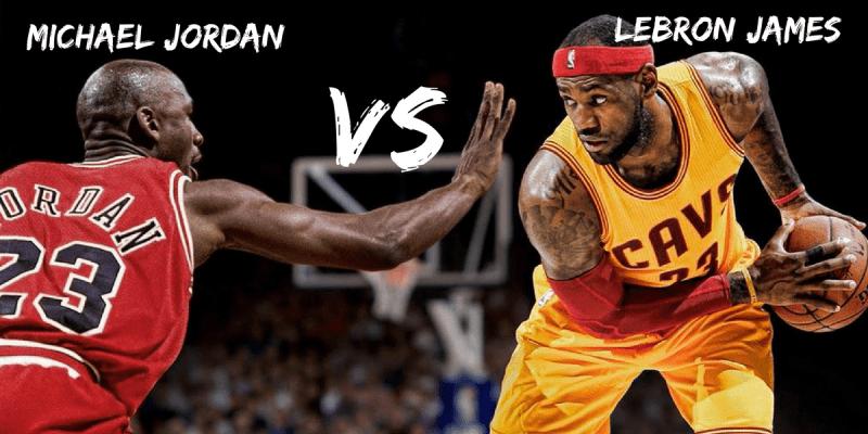 583d612d11f Differences between Michael Jordan   LeBron James - The Blog Place