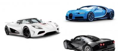 World's Fastest Cars 2017